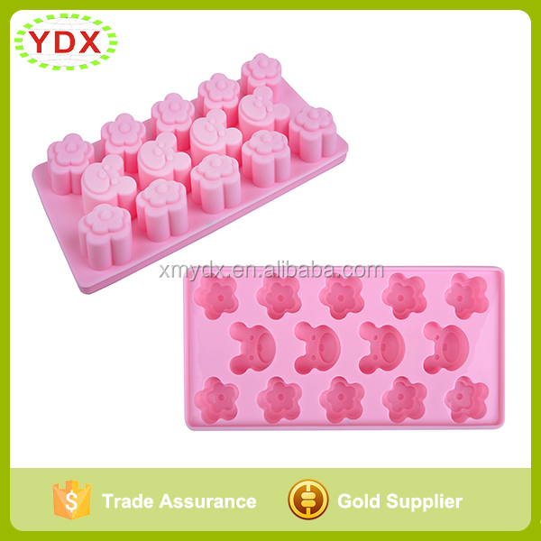 6 Cavities Plain Basic Rectangle Silicone Soap Mold