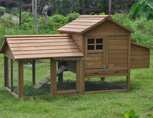 Waterproof Home Use Wooden Chicken Coop Cages Rabbit Hutch With Laying Box Manufactory With Outdoor Run Cage FSC Certificated