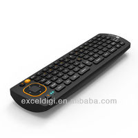 2.4ghz mini android dongle remote control, mini wireless keyboard with trackball mouse