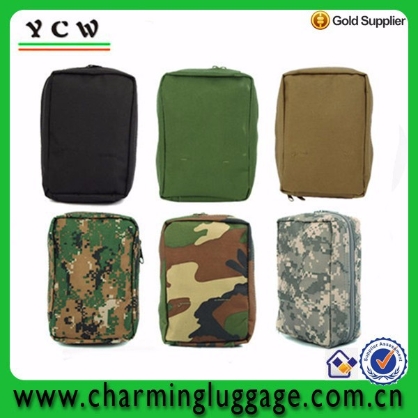 Customized pouch tactical medical bag military first aid kit