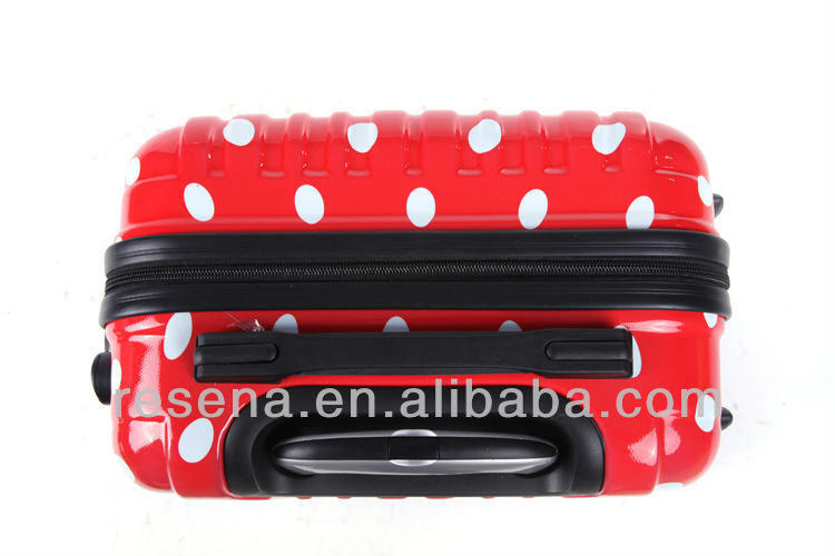 Lovely Colorful Travel Trolley Hard Shell Luggage Case