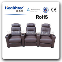 round cinema relax sofa recliner bed