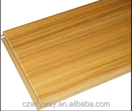 HDF decorative laminate flooring with best price/High quality 10mm/8mm/12mm HDF floor stickers laminate flooring plank
