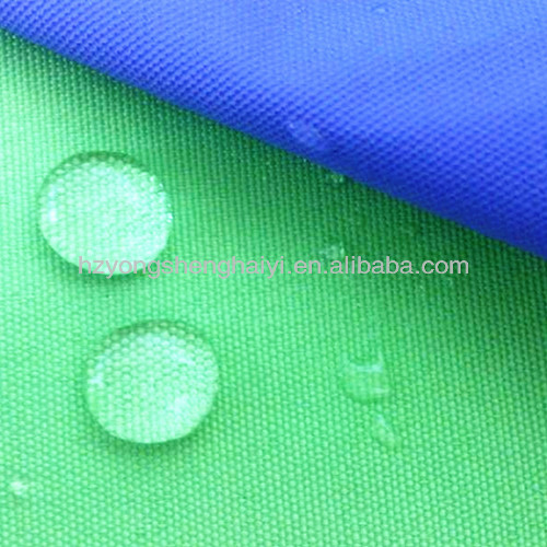 300D polyester waterproof coated stretch tent fabric