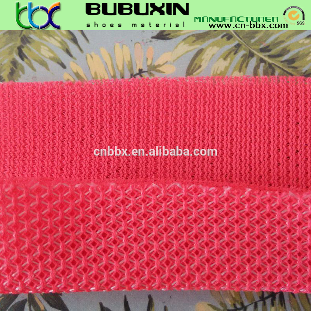 Comfortable Dry Fit Sports Athletic Mesh Fabric made of 100% polyester