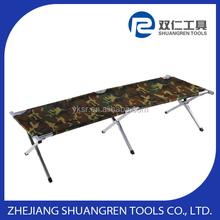 High-end new design aluminous fishing beach bed
