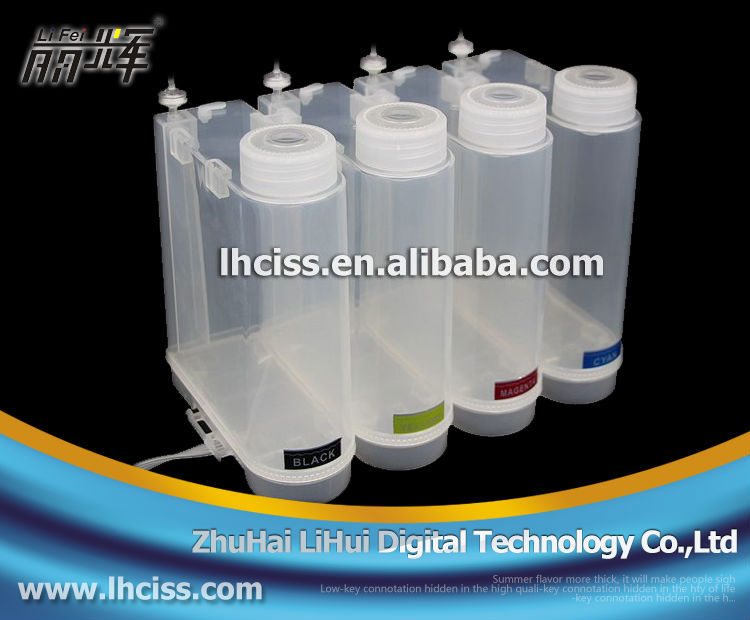 Universal ciss ink tank for wide format 500ml ciss ink tank for epson,hp,canon and brother Continuous Ink Supply System