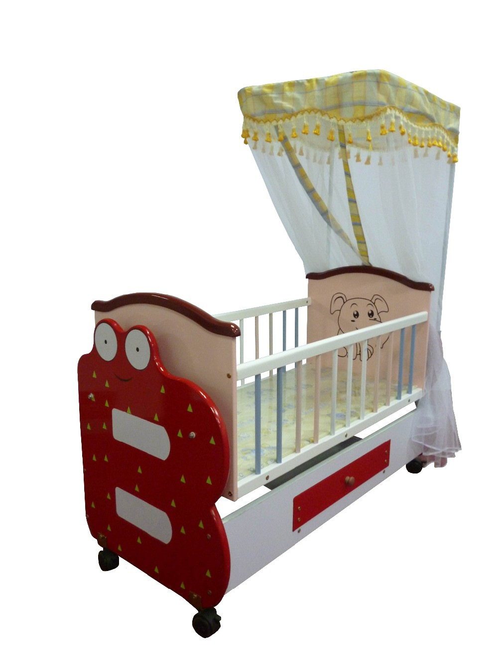 2017 hot sale baby bed with cradle mosquito net buy baby for Cradle bed for adults