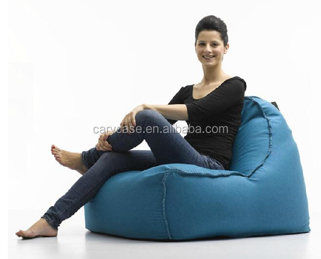 2016 New arrival fashion bean bags without beans , WITH STRING Carry adults comfort sitting chairs