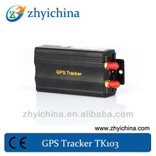 GPS tracker support phone tracking + website tracking+12 month warranty used for car/taxi/bus auto anti theft system tk103