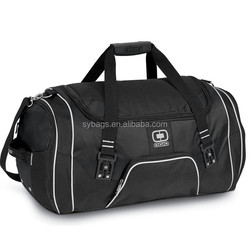 Promotional 600d polyester duffel travel bags and luggages / Rage duffle travel luggage bag / Travel folding bag