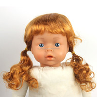 Wholesale cheap long blonde babi doll hair wig
