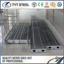 scaffolding planks used for construction scaffold boards plastic galvanized steel plank