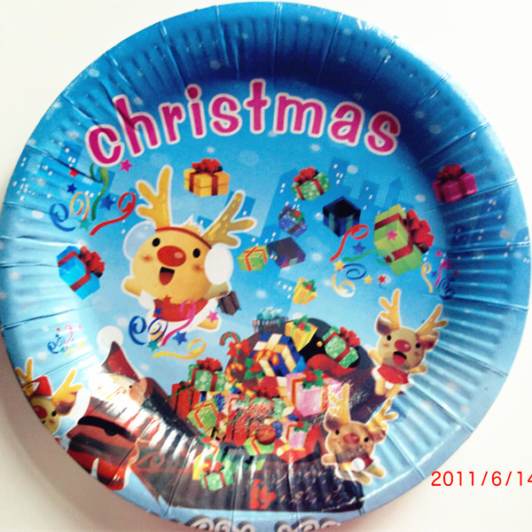 China manufacturer disposable party paper plate