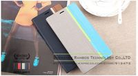 Contrast Luxury Stand Wallet Leather Cases for Samsung Omnia W i8350 Flip Cover with Card Holders
