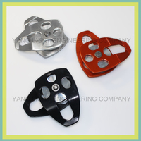 2015 Taiwan Metal Design Chain holder single wheel pulley block