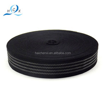 black colorful direct sale non-slip strong elastic band