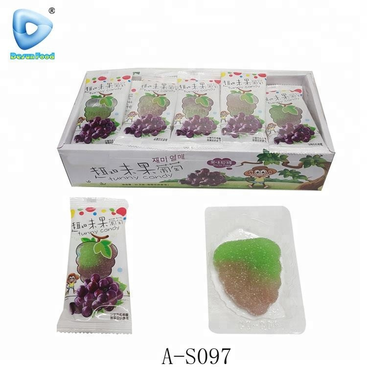 best sell funny fruit shaped soft candy factory