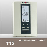 Low voltage 24VAC Modulating digital room thermostat for Proportional-Integral control s fan speed