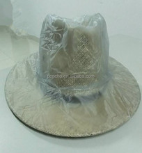 waterproof clear pvc hat cover