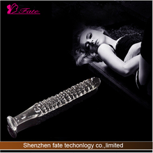 2014 Hot sell China new vibrator glass penis sex crystal hair treatment for women/vibrator penis /No.2 the sticker not thicker e