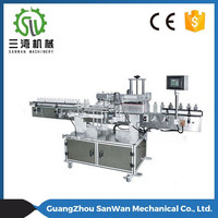 Square Bottle Type Automatic Wine Bottle Labeling Machine