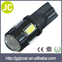 365days Warranty Car accessories interior durable 12v led auto tuning t10 6led 5630smd