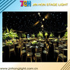 Professional backdrop wedding curtain decorations led starlit curtain/ led curtain supplier