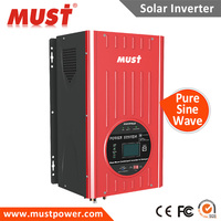 Low frequency solar pump power inverter 2KW 2000W dc12v dc24v dc48v for air conditioner ,fans ,lights etc