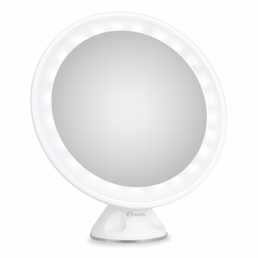 Ovonni Lady <strong>Beauty</strong> 7X Maginifcation LED Makeup Mirror Free Rotation 24 PCS LED Lights Cosmetic Mirror