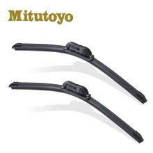 991 Wholesale Mitsuba Windshield Silicone Chrome Carall Double Soft Color Heated Universal Aero Wiper Blade