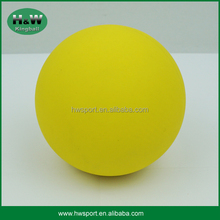 Yellow color rubber hi bouncing ball