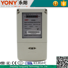 Good quality sell well convenient installation intelligent single phase watt hour meter