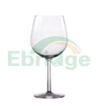 Clear large red wine glass factory in china, drinking juice water cup, customized plastic wine glass