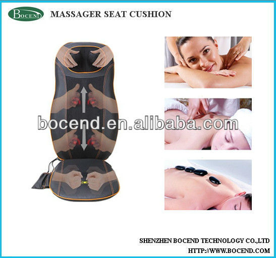 Electric chair massage cushion car seat cushion massager with heating