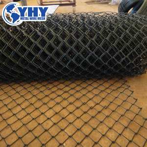Low price high quality 3.5mm wire 6 foot chain link fencing/50x50mm chain link fabric/used chain link fence for sale