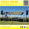 TL-650 Max.Height 6.5 m Lifting Tower, Max loading 350kg for Truss Stand