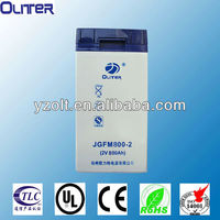 CE & UL approved excellent quality 2v gel battery