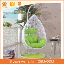 Hot Selling Round Rattan Bird Nest Balcony Adult Cheap Outdoor Indoor Wicker Cocoon Hanging Swing Egg Chair