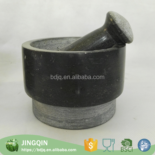 Wholesale custom stand ard granite mortar and pestle