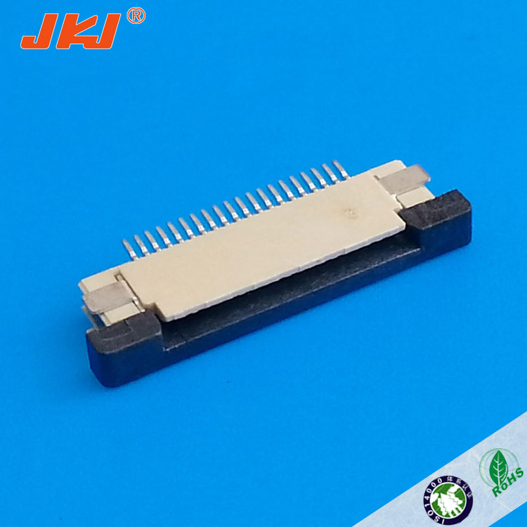 High quality 0.5mm pitch 30 pin zif v/t smd type LCD FFC/FPC connector