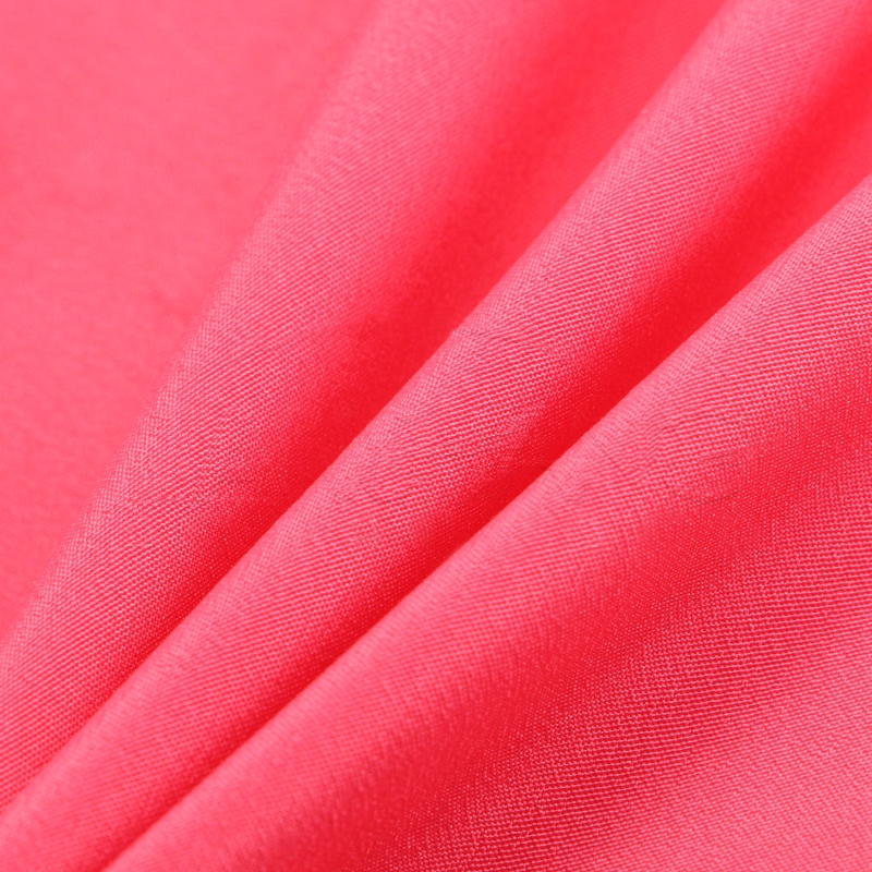 Plain dyed 100% polyester crepe de chine/cdc chiffon fabric wholesale