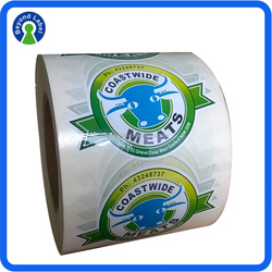 High Quality Custom Self Adhesive Food Product Label, Waterproof Frozen Food Labels Printed Meat Packaging Label