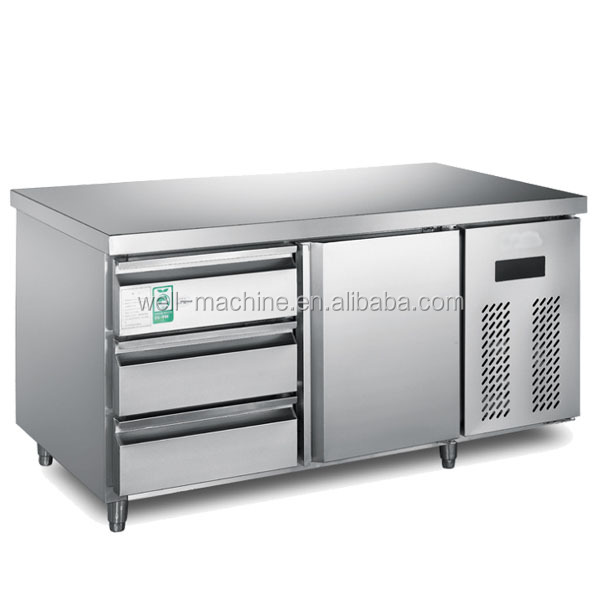 Restaurant Pizza Refrigerated Table Top Display