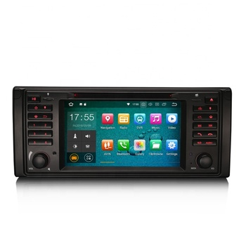 "ERISIN ES3839B 7"" Android 8.1Car DVD Player GPS Satnav Oreo OS Car DVD GPS 4G TPMS DAB+Stereo DVD GPS DAB+ for BMW 5er E39 X5"