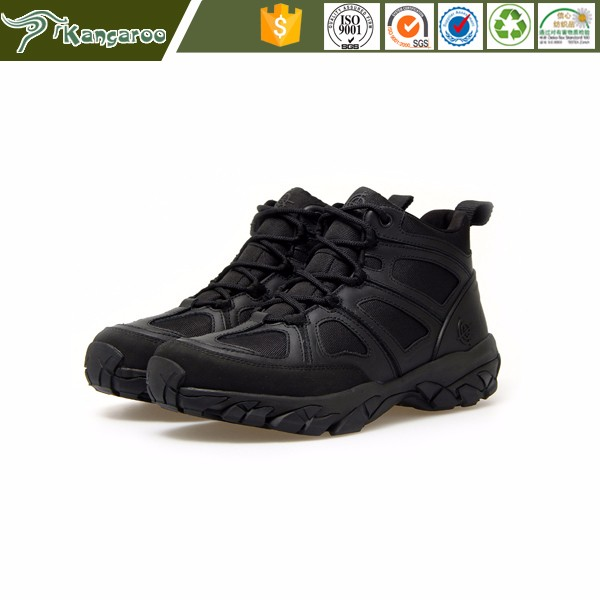 KMB39 Carmy Outdoor Men Hiking Slip Resistant Jungle Army Combat Shoes From China