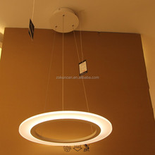 Circle dimmable LED pendant lighting