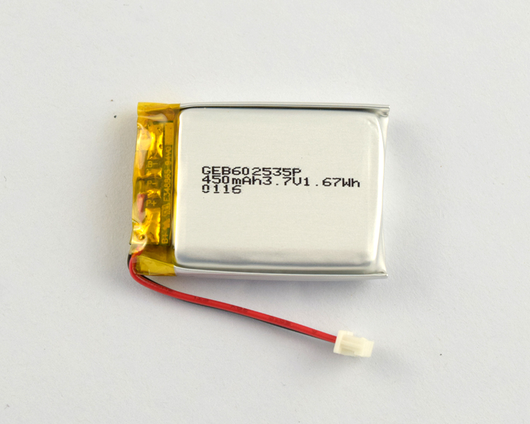 rechargeable punch lithium ion polymer 3.7V battery