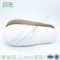 Custom high quality disposable hotel guest room slipper is slipper