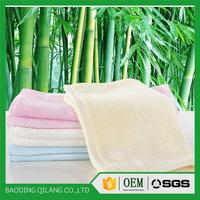 Bamboo fiber towel terry bath towel embroidery bamboo face towel